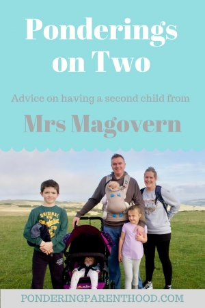 Second baby advice. Caroline talks about going from one to two, to three, to four!