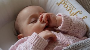 Our sleep routine at five months old