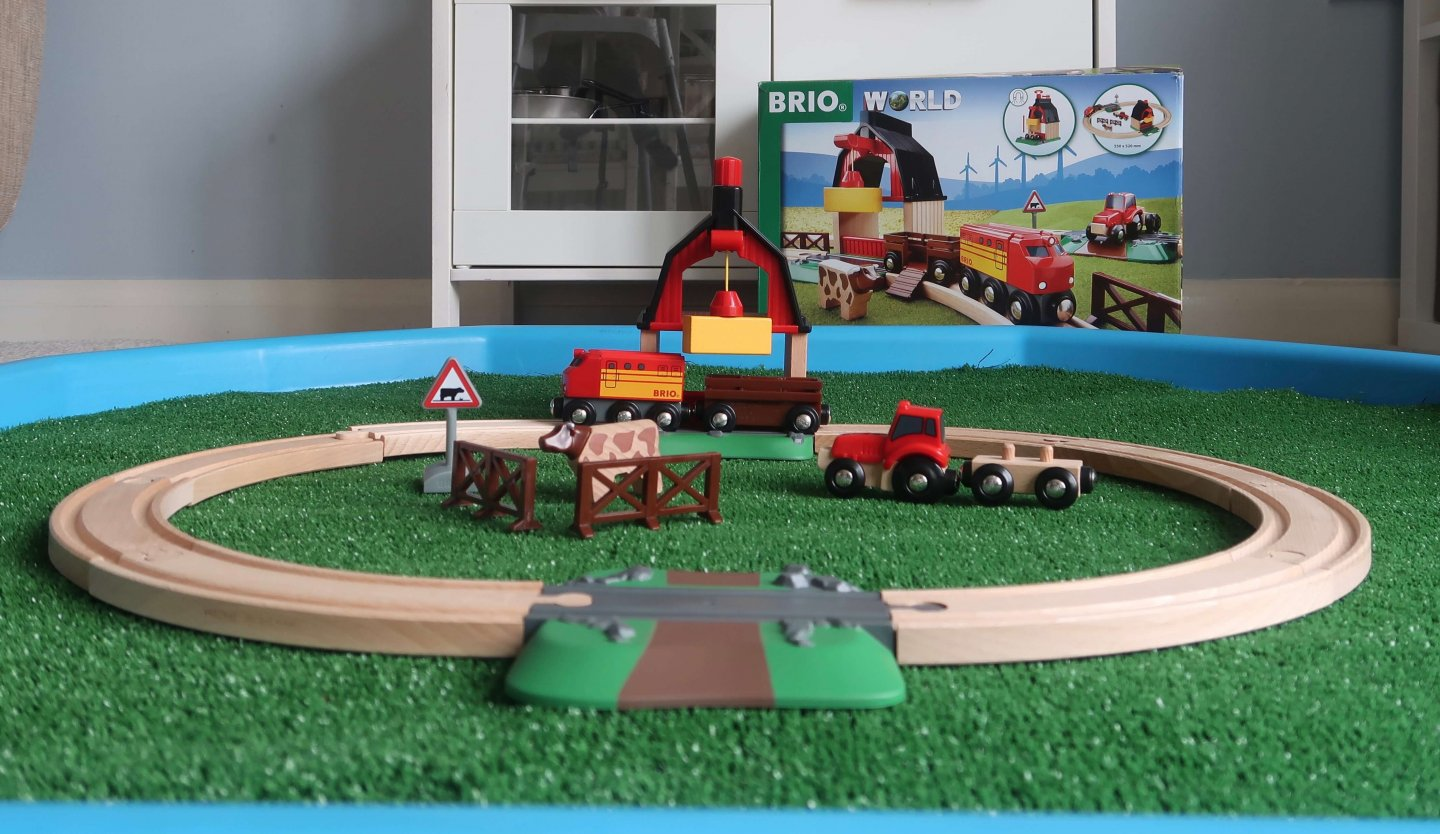 BRIO Farm Railway Set Review