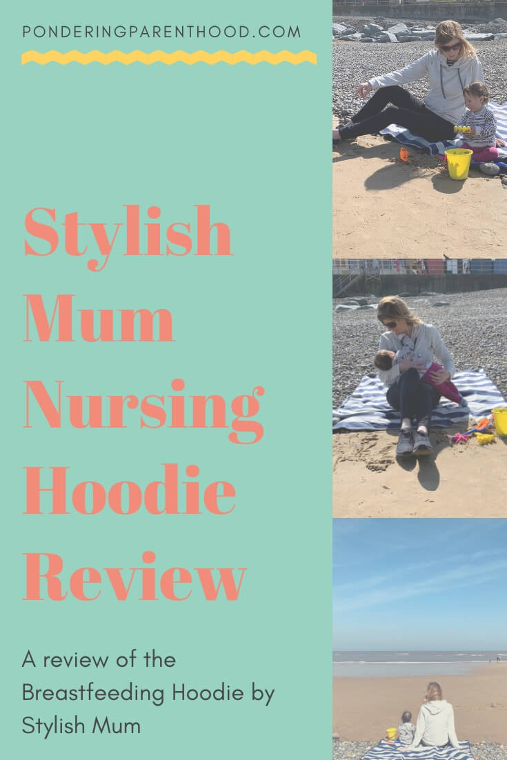 Looking for breastfeeding friendly clothing? Check out my review of the Stylish Mum Breastfeeding Hoodie.