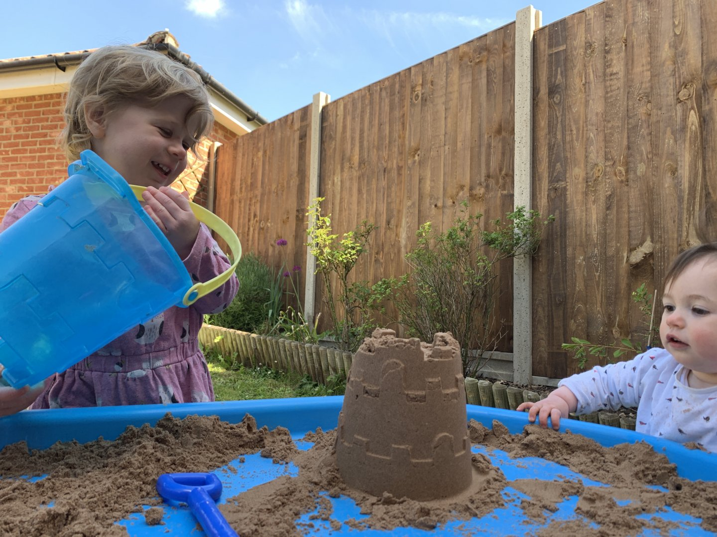 EYFS beach tuff spot activity